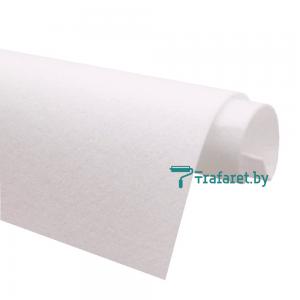 Корейский фетр Solitone 1,2 мм, 20 х 28 см, жесткий, 802 молочный