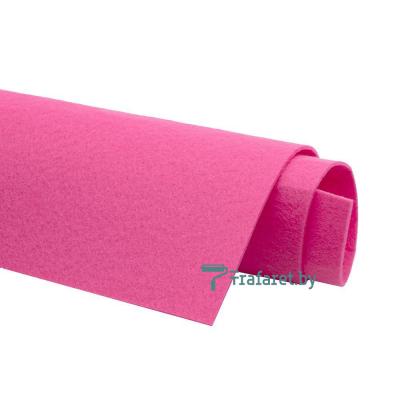 Корейский фетр Solitone 1,2 мм, 20 х 28 см, жесткий, 830 пасхально-розовый