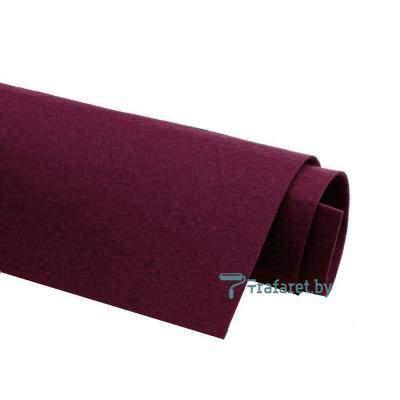 Корейский фетр Solitone 1,2 мм, 20 х 28 см, жесткий, 843 сливовый