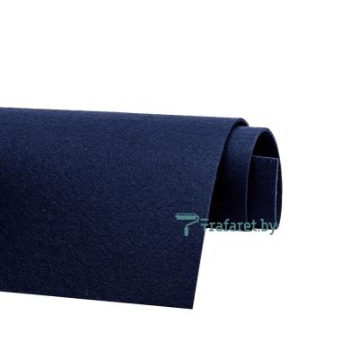 Корейский фетр Solitone 1,2 мм, 20 х 28 см, жесткий, 854 атлантический