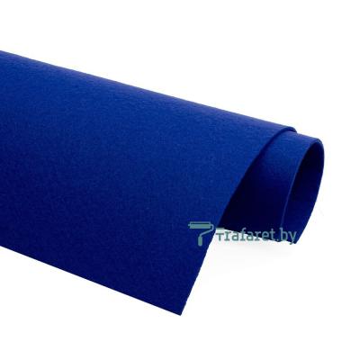 Корейский фетр Solitone 1,2 мм, 20 х 28 см, жесткий, 855 ультрамариновый