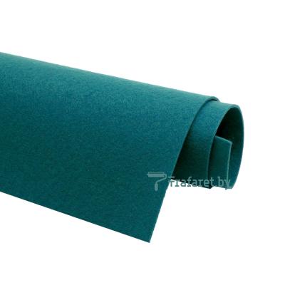 Корейский фетр Solitone 1,2 мм, 20 х 28 см, жесткий, 862 сине-травяной