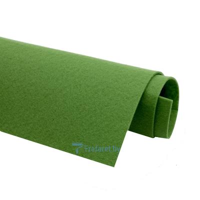 Корейский фетр Solitone 1,2 мм, 20 х 28 см, жесткий, 865 оливковый
