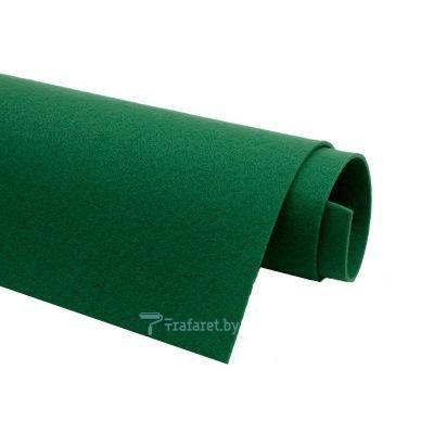 Корейский фетр Solitone 1,2 мм, 20 х 28 см, жесткий, 868 темно-зеленый