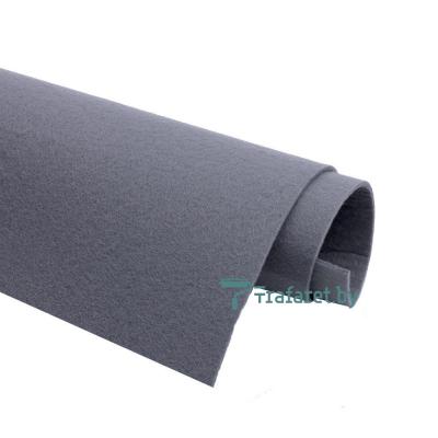 Корейский фетр Solitone 1,2 мм, 20 х 28 см, жесткий, 898 серый