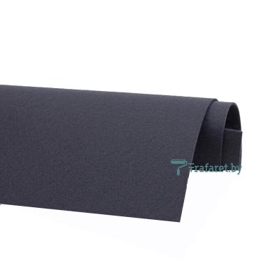 Корейский фетр Solitone 1,2 мм, 20 х 28 см, жесткий, 901 мокрый асфальт