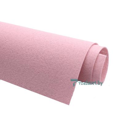 Корейский фетр Solitone 1,2 мм, 20 х 28 см, жесткий, 907 дымчато-розовый