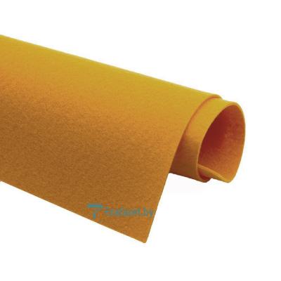Корейский фетр Solitone 1,2 мм, 20 х 28 см, жесткий, 921 горчичный