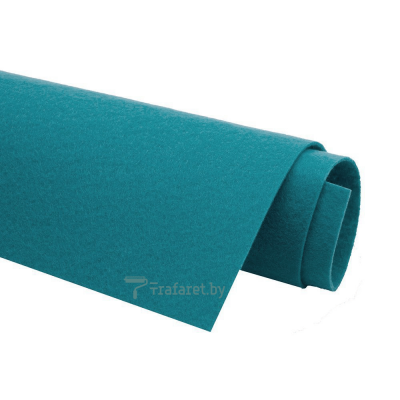 Корейский фетр Solitone 1,2 мм, 20 х 28 см, жесткий, 928 синий