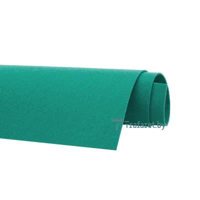 Корейский фетр Solitone 1,2 мм, 20 х 28 см, жесткий, 929 бирюзовый жемчуг
