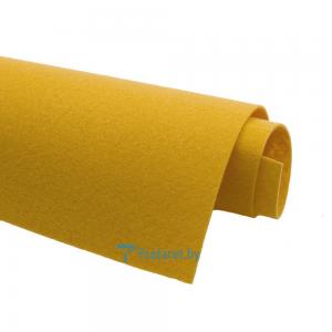 Корейский фетр Solitone 1,2 мм, 20 х 28 см, жесткий, 815 мандариновый