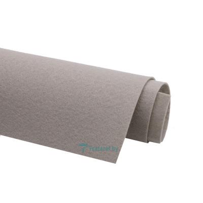 Корейский фетр Solitone 1,2 мм, 20 х 28 см, жесткий, 894 пепельно-серый
