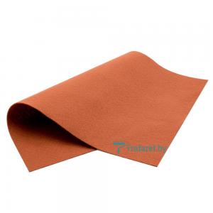 Корейский фетр Royal 1мм мягкий 20 х 28 см RN-06 коричнево-медный