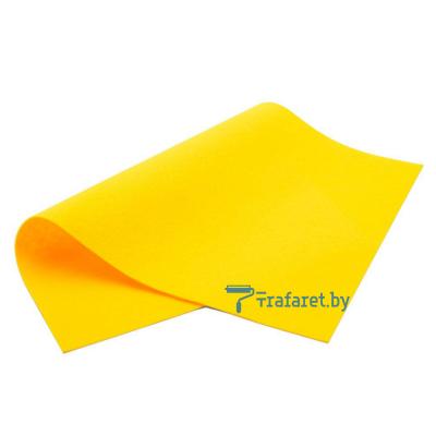 Корейский фетр Royal 1мм мягкий 20 х 28 см RN-17 темно-желтый