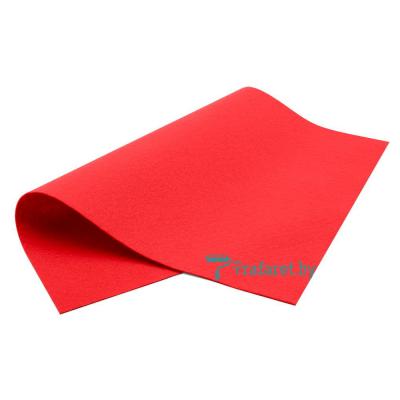 Корейский фетр Royal 1мм мягкий 20 х 28 см RN-23 красный