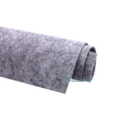 Корейский фетр Solitone 1,2 мм, 20 х 28 см, жесткий, 892 серый меланжевый