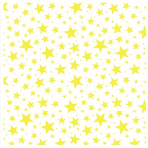 """Трафарет клеевой """"Звезды"""" Creativim.by 20 х 20 см, многократного применения, мягкий"""