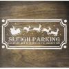 """Трафарет клеевой """"Sleigh Parking"""" Creativim.by  10 х 20 см, многократного применения, мягкий"""